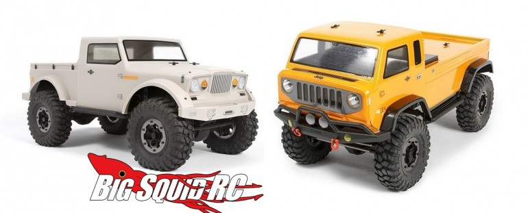 Axial Jeep NuKizer Mighty FC Body