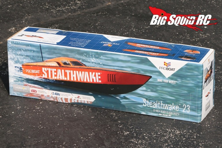 Pro Boat Stealthwake 23 unboxing