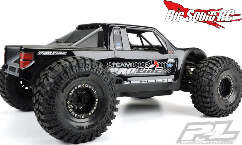 Pro line ford f 150 raptor svt body for the axial yeti for Perfect scale pro review