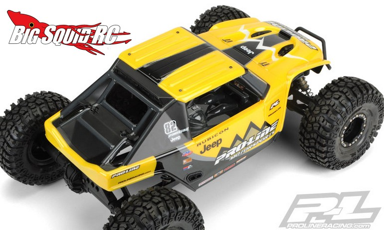 Pro Line Jeep Wrangler Rubicon Clear Body For The Axial