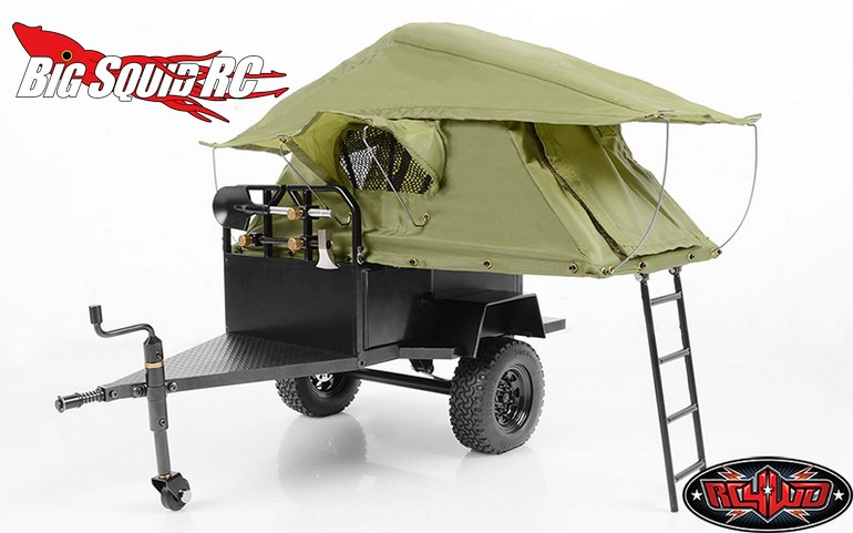 Elegant Add Some Fun To Your Next Trail Drive With The Bivouac 110th MOAB Camping Trailer With Tent From RC4WD The Camping Trailer Is Licensed By Bivouac And Has All The Looks Of A Full Size Unit With Amazing Attention To Detail