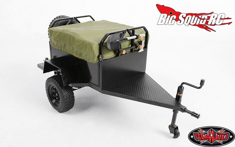 Rc4wd Bivouac M O A B Camping Trailer With Tent 171 Big