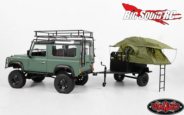 RC4WD Bivouac M.O.A.B Camping Trailer with Tent « Big ...