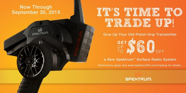 Spektrum Trade Up Program