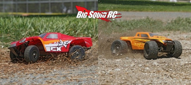 ECX 1/18 Red Torment Orange Ruckus