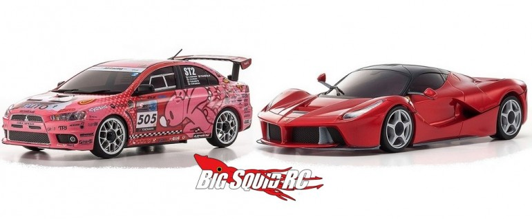 Kyosho Gloomy Bear LaFerrari Mini-Z