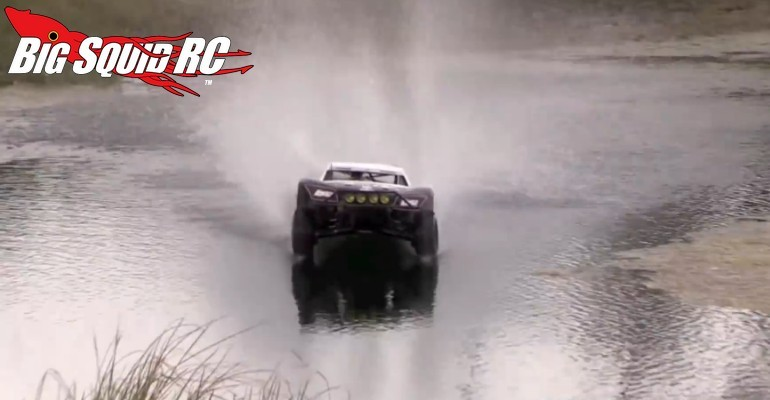 Losi 5IVE-T Hydroplane Video
