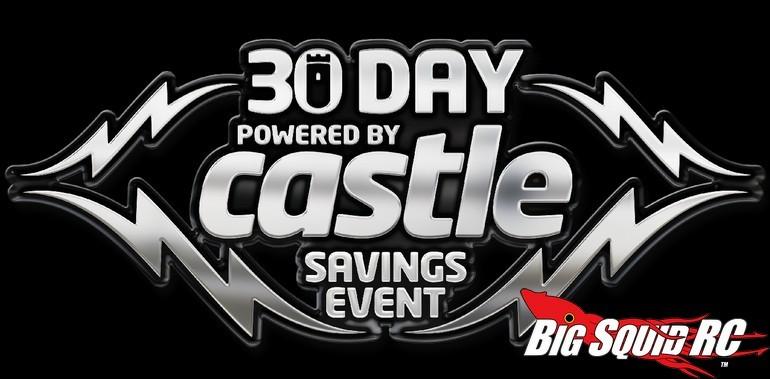Castle 30 Day Sales Event
