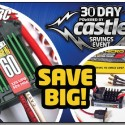 Castle 30 day sales event