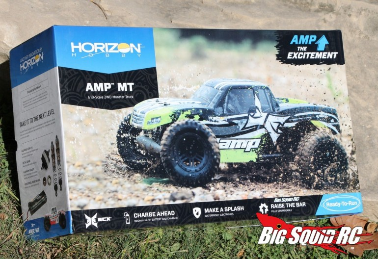 Unboxing ECX AMP MT Monster Truck