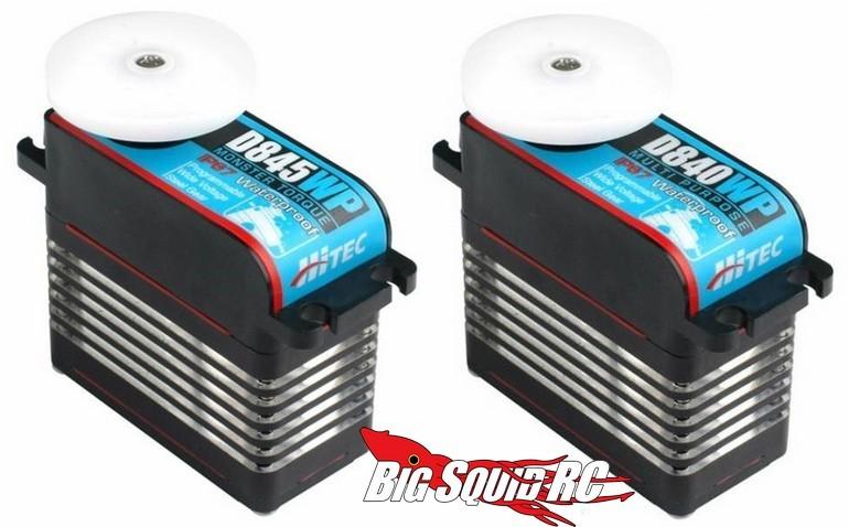 Hitec D Series Waterproof Servos