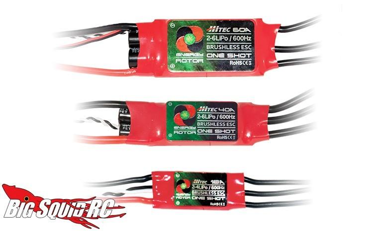 Hitec's Energy Rotor ESCs