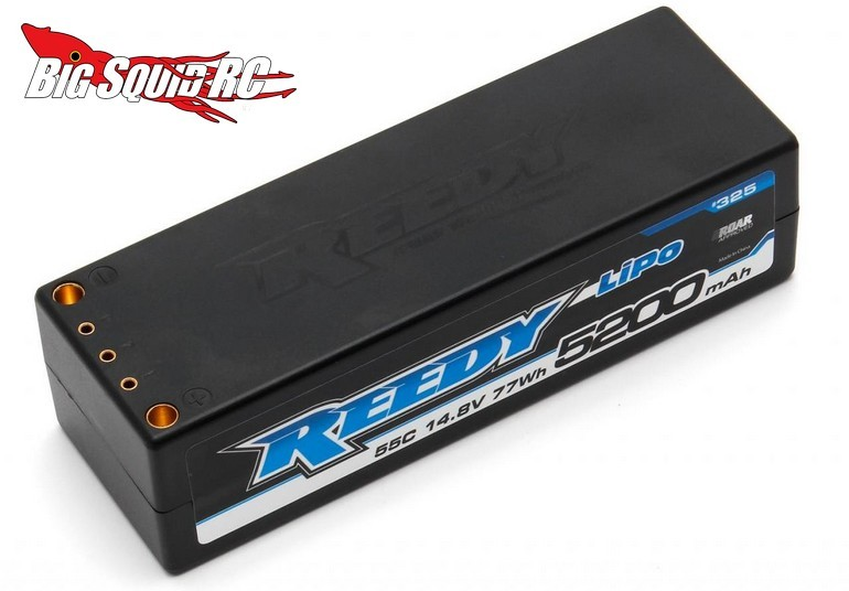 Reedy 5200mAh 55C 14.8V Competition LiPo