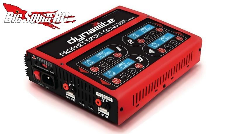 Dynamite Prophet Sport Quad 4 X 100W AC/DC Charger