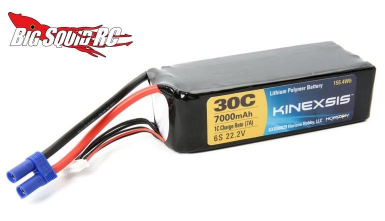 Kinexsis 6S LiPo battery