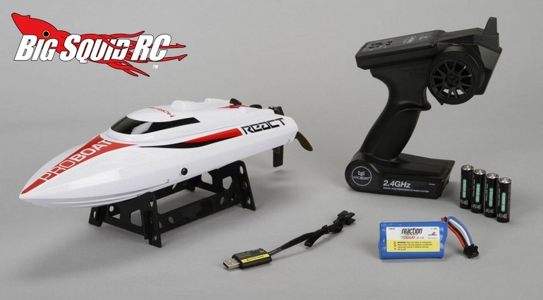 Pro Boat React 17 Self-Righting Brushed Deep-V RTR