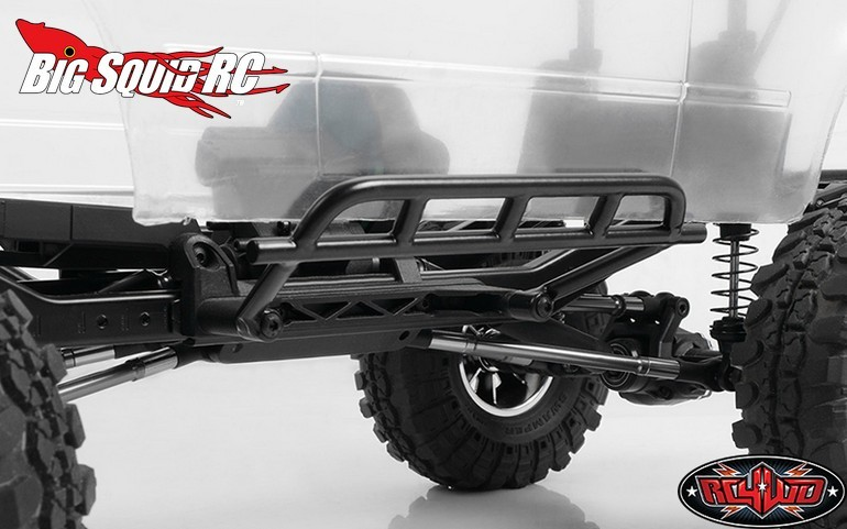 RC4WD Tough Armor Side Steel Sliders Vaterra Ascender