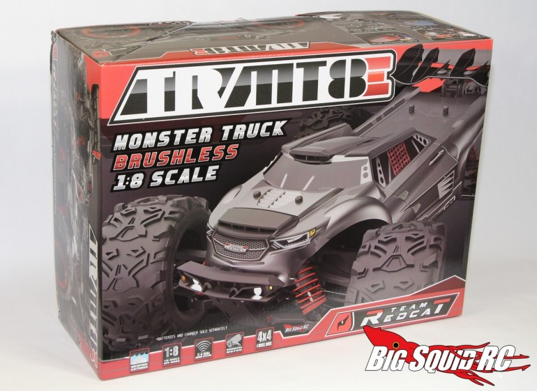 Team RedCat TR-MT8E Monster Truck