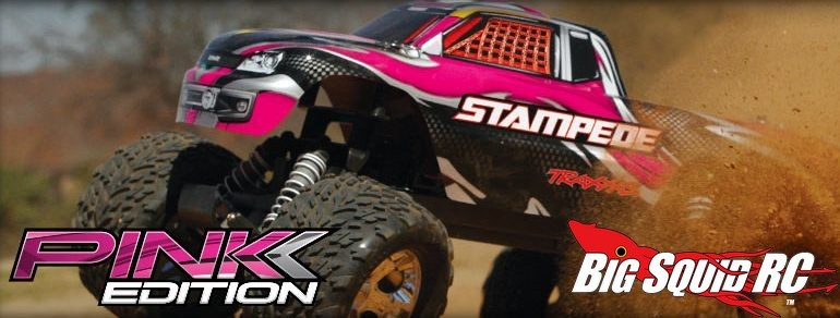 Traxxas Pink Edition Stampede