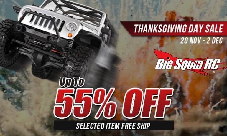 rcMart Thanksgiving Sale