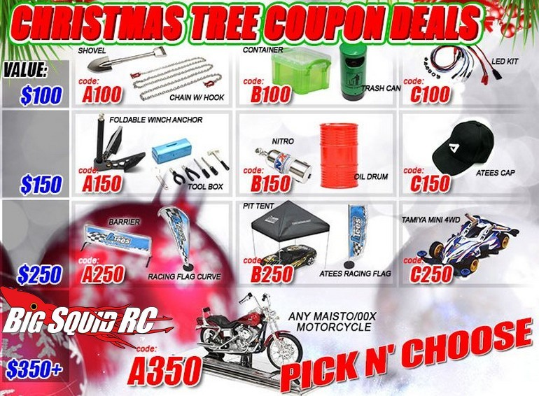 Christmas Tree Coupons From Asiatees Hobbies Big Squid Rc Rc Car