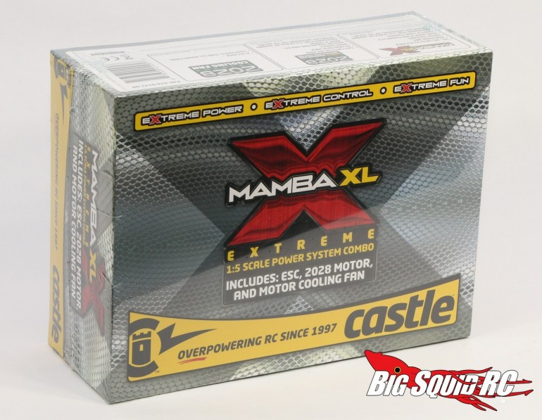 Castle Creations Mamba XL X Brushless Combo Unboxing