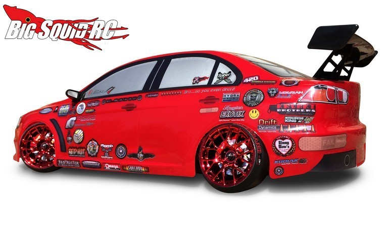 FireBrand RC SCALE DETAILS Sponsor Logo Decals