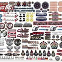 FireBrand RC SCALE DETAILS  Sponsor Logo Decals 2