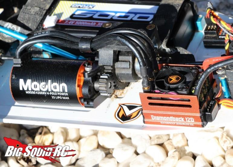 Maclan Racing Diamondback MX Brushless System Review