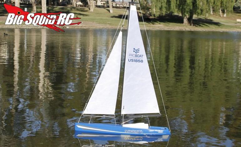 Pro Boat Westward 18-inch Sailboat V2 « Big Squid RC – RC