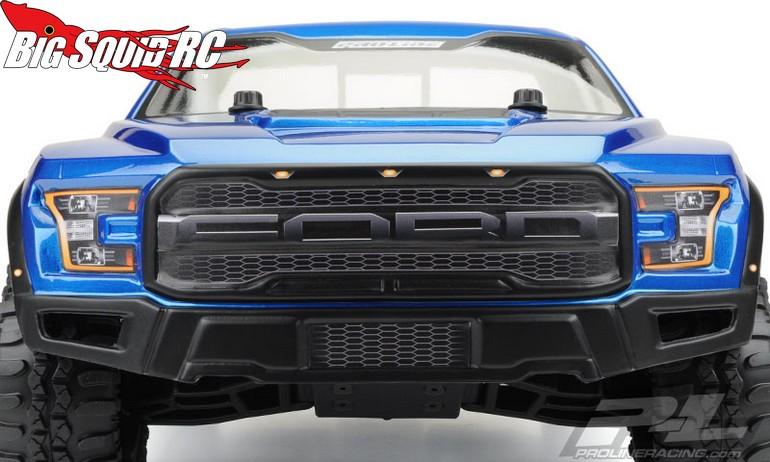pro line 2017 ford f 150 raptor true scale body big. Black Bedroom Furniture Sets. Home Design Ideas