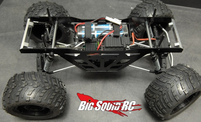 ST Racing Concepts Monster Truck Racing Chassis Axial Wraith
