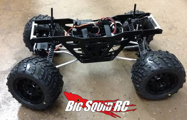 St Racing Concepts Monster Truck Chassis Axial Wraith