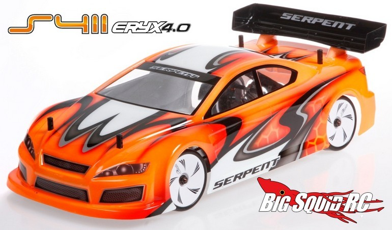 Serpent Eryx 4.0 Carbon Chassis Touring Car