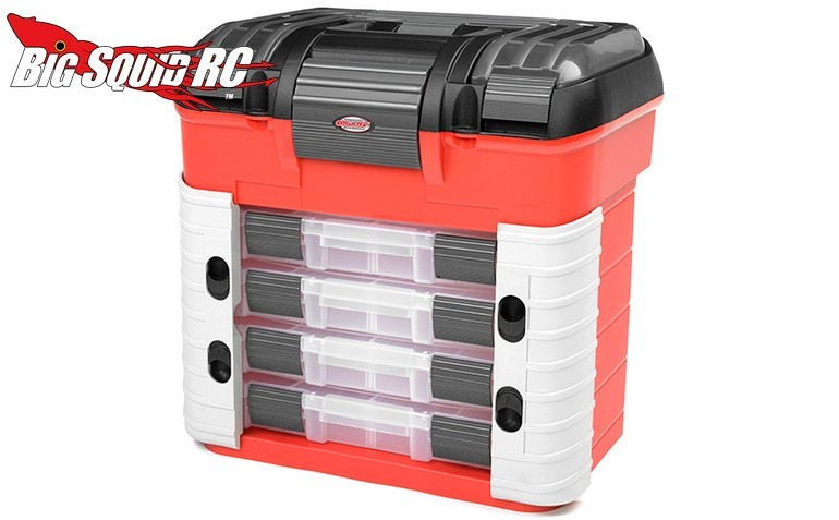Team Corally 4 Drawer Pit Case