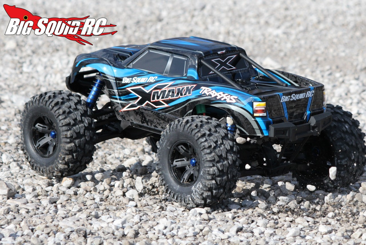 traxxas x maxx monster truck review big squid rc rc. Black Bedroom Furniture Sets. Home Design Ideas