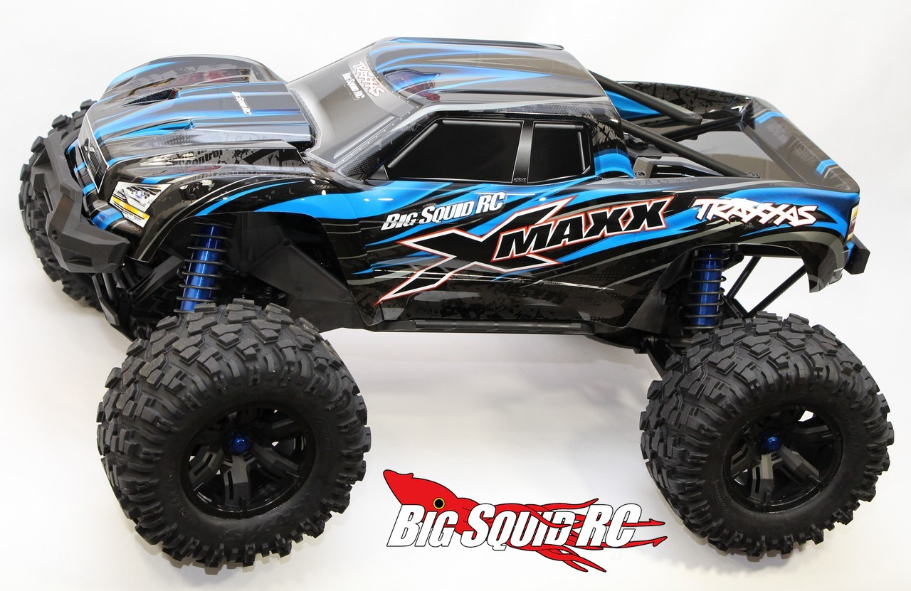traxxas rc trucks with Unboxing The Traxxas X Maxx Monster Truck on Watch furthermore Traxxas Nhra 18th Electric Rtr Funny Car W24ghz Tqi Radio together with 87220 as well The Greatest Rc Trucks Of All Time as well Traxxas Turns Loose Two New Monsters Skully Craniac.