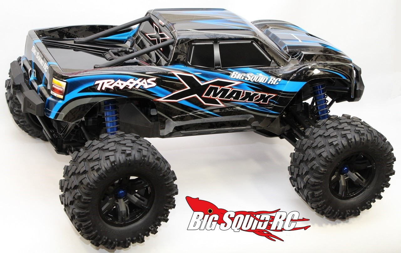 Unboxing The Traxxas X Maxx Monster Truck 171 Big Squid Rc