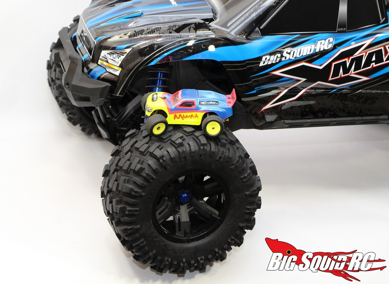 unboxing  traxxas  maxx monster truck big squid rc