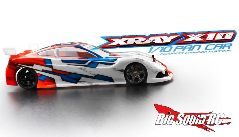 2016 XRay X10 Pan Car