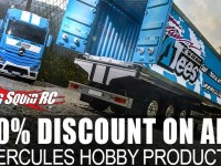 10% Discount on all Hercules Hobby Products