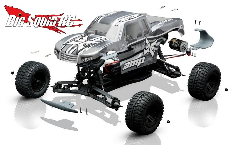 Car Battery Charger Reviews >> ECX AMP MT Build-To-Drive Kit « Big Squid RC – RC Car and Truck News, Reviews, Videos, and More!