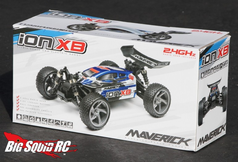 Maverick iON XB Buggy Unboxing