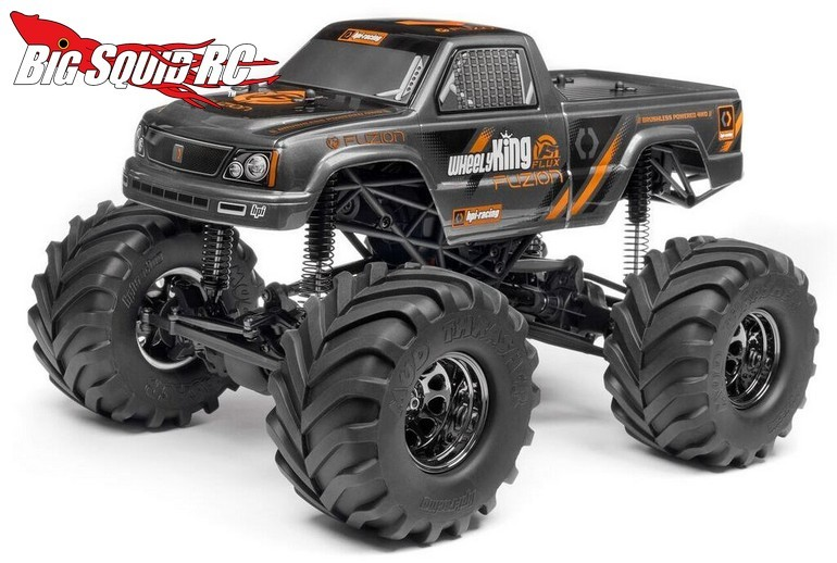 HPI Wheely King Fuzion
