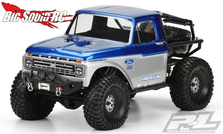 Pro-Line 1966 Ford F-100 Clear Body