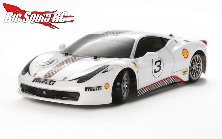 Tamiya Ferrari 458 Challenge TT02D Drift Spec