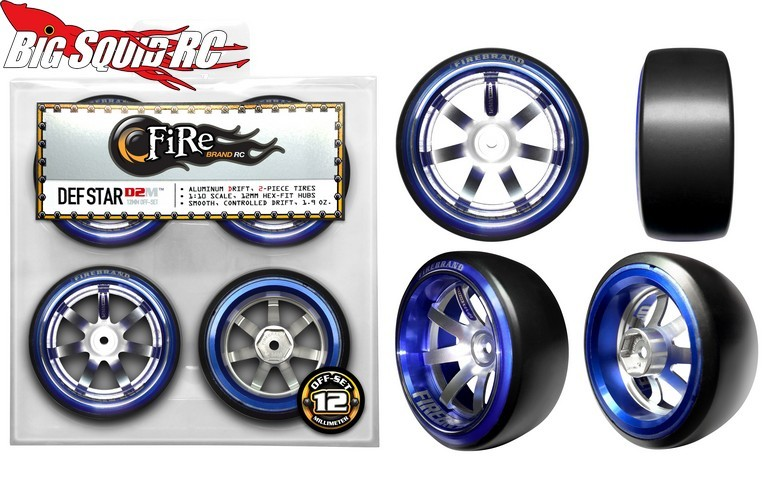 FireBrand DEF STAR-D2M ALUMINUM DRIFT Wheels