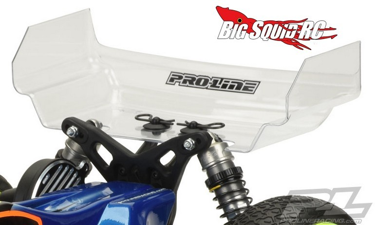 "Pro-Line Champion 6.5"" Clear Rear Wing"