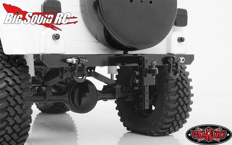 RC4WD Rock Hard 4x4 Patriot Series Rear Bumper Hitch