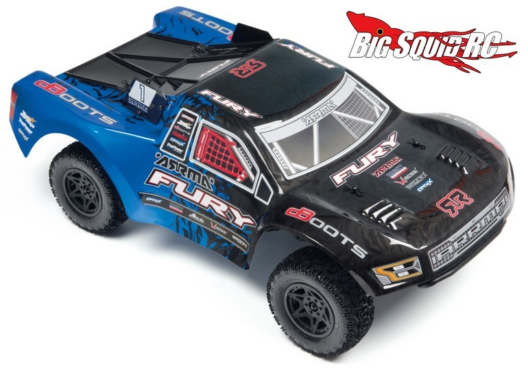 2016 ARRMA Fury Mega Brushed